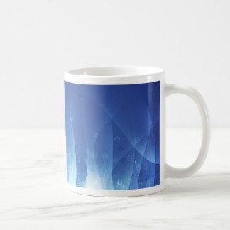 Blue Flame Basic White Mug