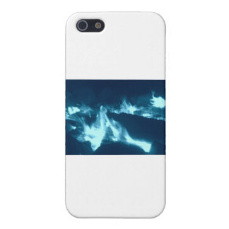 Blue Flame iPhone 5/5S Covers
