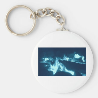Blue Flame Keychains