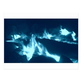 Blue Flame Postcard