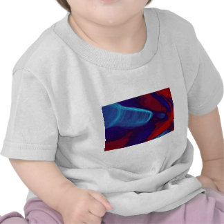 Blue flare tshirt