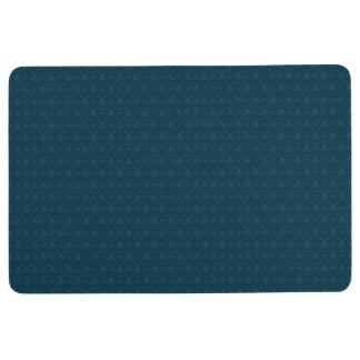Blue Fleur-de-lis Floor Mat