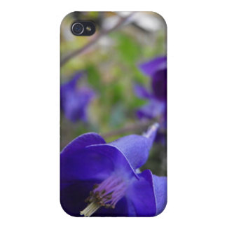 Blue Flora iPhone 4 Covers