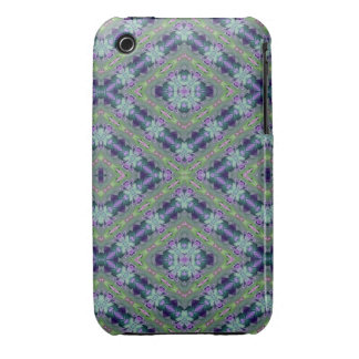 Blue Floral Abstract 2 iPhone 3 Case-Mate Cases