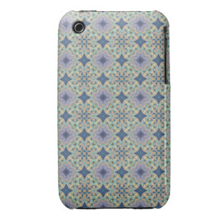 Blue Floral iPhone 3 Cases