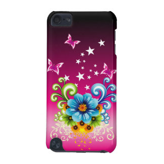 Blue Floral iPod Touch 5G Case