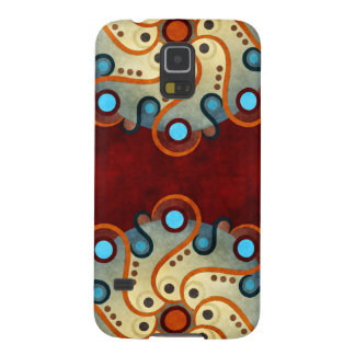 Blue Floral Vector Art Samsung Galaxy Nexus Case