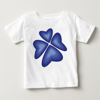 blue flower baby T-Shirt