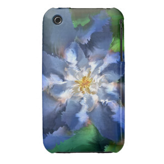 Blue Flower Case-Mate iPhone 3 Cases