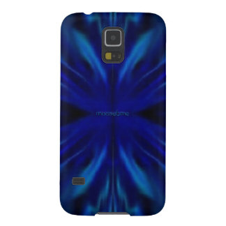 Blue Flower Center Galaxy S5 Cover
