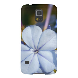 Blue Flower Galaxy S5 Cover