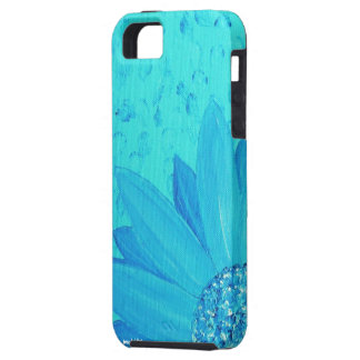 Blue Flower iPhone4 Case iPhone 5 Case