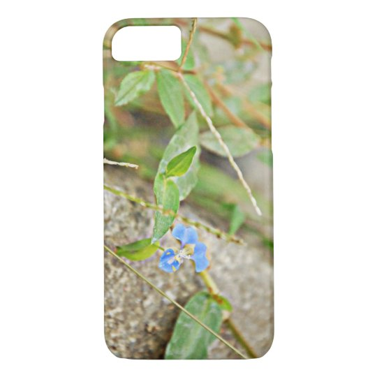 Blue Flower iPhone 8/7 Case