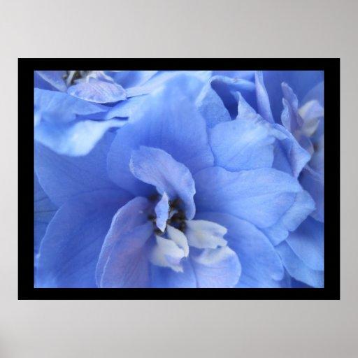Blue Flower Modern Print