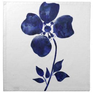 Blue Flower Napkin