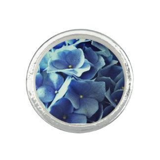 Blue Flower Ring