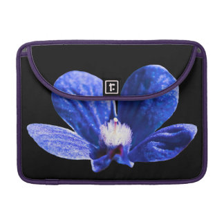 Blue Flower Sleeve For MacBooks