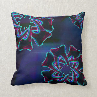 Blue Flower Tooth Design Dentist Pillows