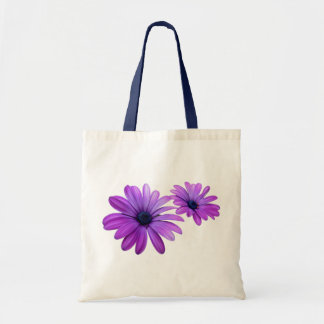 Blue Flower Tote Bag Wildlfower Beach Tote Bags