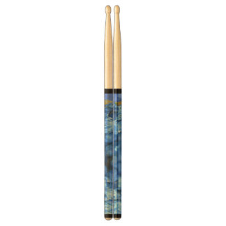 Blue Flowers Drum Sticks
