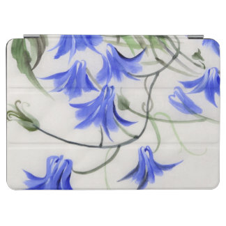 Blue Flowers iPad Air Cover