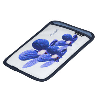 Blue Flowers iPad Mini Sleeve