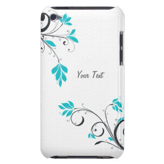 Blue Flowers iPod Touch Case