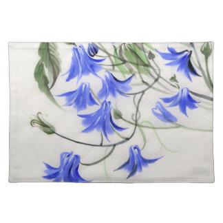 Blue Flowers Placemat