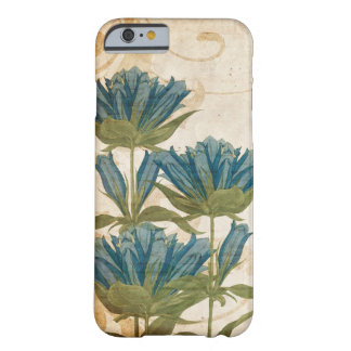 Blue Flowers Vintage Wedding Barely There iPhone 6 Case