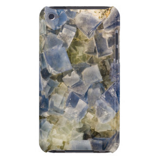 Blue Fluorite Crystals in Matrix Barely There iPod Cases