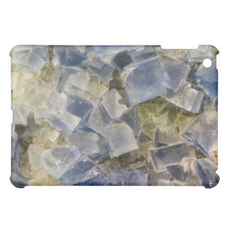 Blue Fluorite Crystals in Matrix iPad Mini Cover