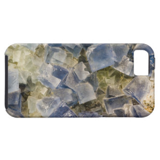 Blue Fluorite Crystals in Matrix iPhone 5 Covers