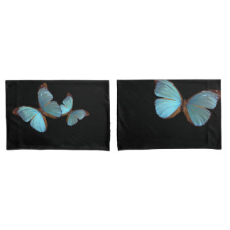 Blue Fly Pillow Cases