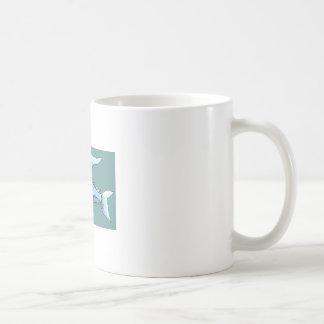 Blue Flying Fish Mug
