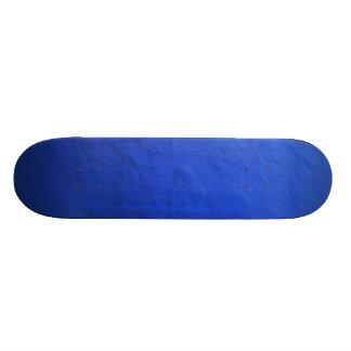 Blue Foil Printed Skateboard Deck