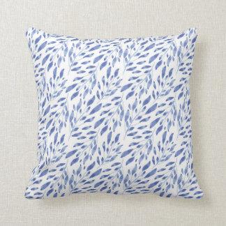 Blue Foliage Cushion