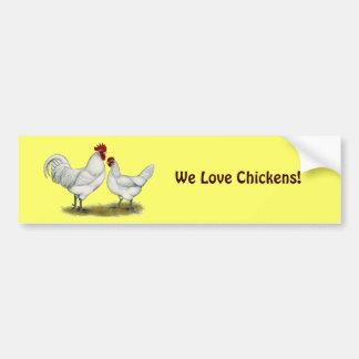 Blue Foot Chickens Bumper Sticker