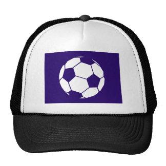 Blue Football Design Cap