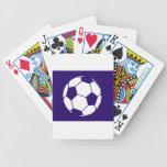 Blue Football Design Deck Of Cards