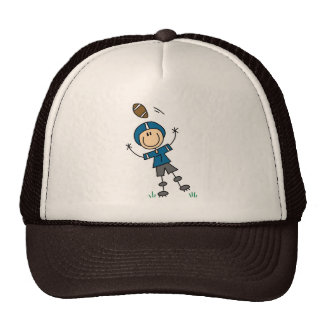 Blue Football Player Hat