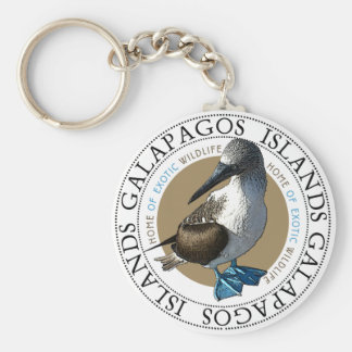 Blue Footed Booby Key Ring