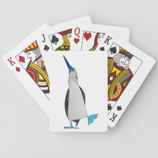 Blue Footed Booby Playing Cards (left)