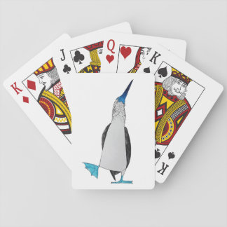 Blue Footed Booby Playing Cards (right)