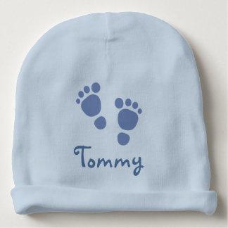 Blue Footprints Infant Hat Baby Beanie