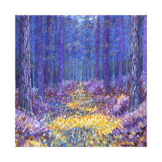 Blue Forest 2 2012 Canvas Print