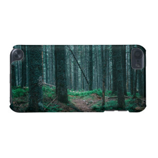 Blue Forest Treescape Nature Photograph iPod Touch 5G Cases
