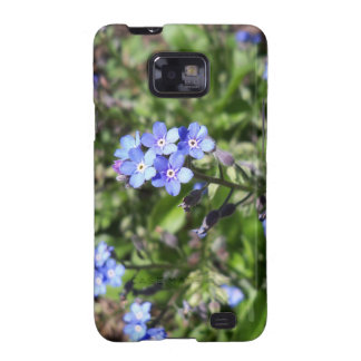 Blue Forget Me Not Samsung Galaxy S2 Case