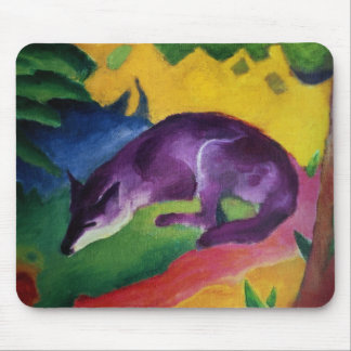 Blue Fox, 1911 Mouse Mat