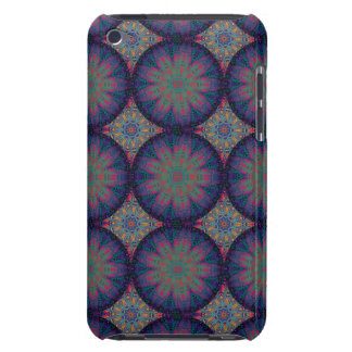 Blue Fractal Pattern Case-Mate iPod Touch Case