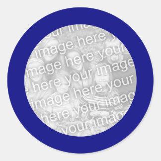 Blue Frame Sticker